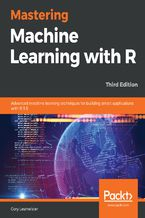Okładka książki Mastering Machine Learning with R