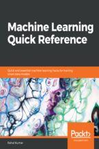 Okładka książki Machine Learning Quick Reference