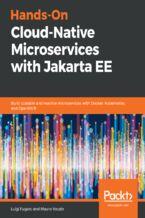 Okładka książki Hands-On Cloud-Native Microservices with Jakarta EE