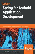 Okładka książki Learn Spring for Android Application Development