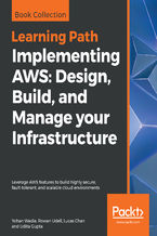 Okładka książki Implementing AWS: Design, Build, and Manage your Infrastructure