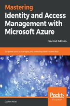 Okładka książki Mastering Identity and Access Management with Microsoft Azure