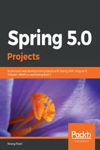Okładka książki Spring 5.0 Projects