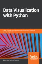 Okładka książki Data Visualization with Python