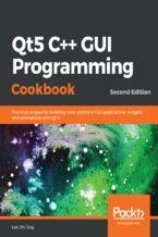 Okładka książki  Qt5 C++ GUI Programming Cookbook