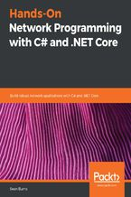 Okładka książki Hands-On Network Programming with C# and .NET Core