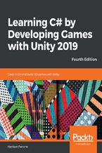 Okładka książki Learning C# by Developing Games with Unity 2019