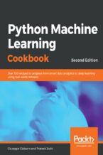 Okładka książki Python Machine Learning Cookbook