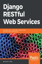 Okładka książki Django RESTful Web Services