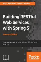 Okładka książki Building RESTful Web Services with Spring 5 - Second Edition