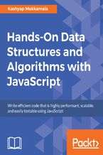 Okładka książki Hands-On Data Structures and Algorithms with JavaScript