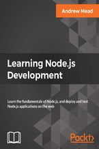 Okładka książki Learning Node.js Development