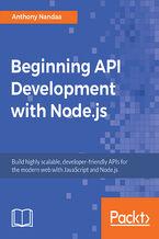 Okładka książki Beginning API Development with Node.js