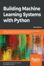 Okładka książki Building Machine Learning Systems with Python