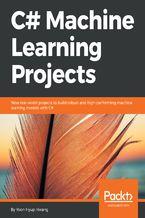 Okładka książki C# Machine Learning Projects