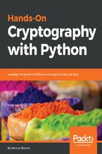 Okładka książki Hands-On Cryptography with Python