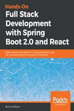 Okładka książki Hands-On Full Stack Development with Spring Boot 2.0 and React