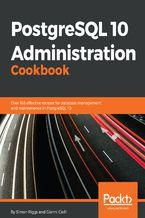 Okładka książki PostgreSQL 10 Administration Cookbook