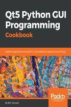 Okładka książki Qt5 Python GUI Programming Cookbook