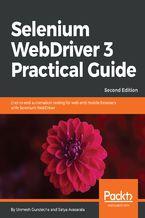 Okładka książki Selenium WebDriver 3 Practical Guide