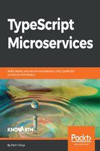 Okładka książki TypeScript Microservices