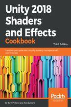 Okładka książki Unity 2018 Shaders and Effects Cookbook