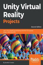 Okładka książki Unity Virtual Reality Projects