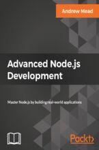 Okładka książki Advanced Node.js Development