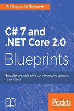 Okładka książki C# 7 and .NET Core 2.0 Blueprints