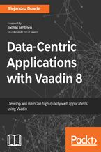 Okładka książki Data-Centric Applications with Vaadin 8