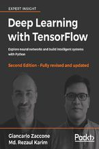 Okładka książki Deep Learning with TensorFlow