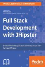 Okładka książki Full Stack Development with JHipster