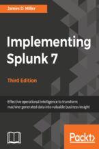 Okładka książki Implementing Splunk 7, Third Edition
