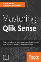 Okładka książki Mastering Qlik Sense