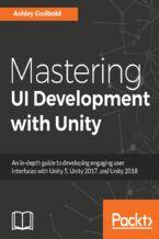 Okładka książki Mastering UI Development with Unity