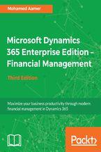 Okładka książki Microsoft Dynamics 365 Enterprise Edition  Financial Management