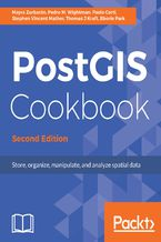 Okładka książki PostGIS Cookbook