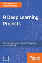 Okładka książki R Deep Learning Projects