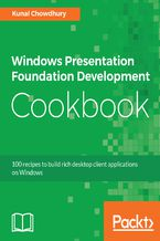 Okładka książki Windows Presentation Foundation Development Cookbook