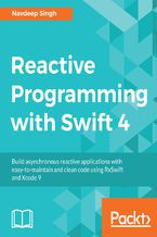 Okładka książki Reactive Programming with Swift 4