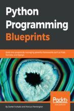 Okładka książki Python Programming Blueprints