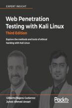 Okładka książki Web Penetration Testing with Kali Linux - Third Edition
