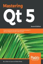 Okładka książki Mastering Qt  5