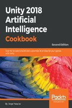 Okładka książki Unity 2018 Artificial Intelligence Cookbook