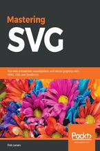 Okładka książki Mastering SVG