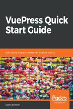 Okładka książki VuePress Quick Start Guide