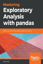 Okładka książki Mastering Exploratory Analysis with pandas