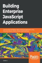 Okładka książki Building Enterprise JavaScript Applications