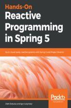 Okładka książki Hands-On Reactive Programming in Spring 5