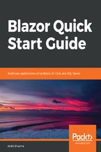 Okładka książki Blazor Quick Start Guide